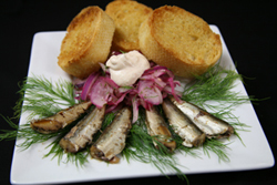 Sardines and Onion Relish